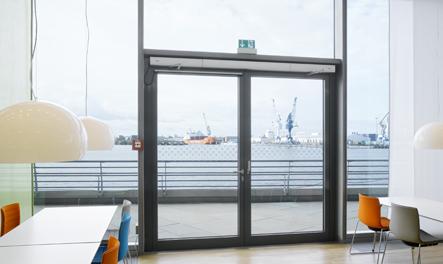 Автоматические распашные двери GEZE