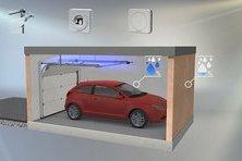 Система автоматического проветривания гаража